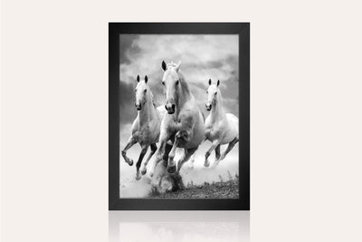 Galloping Horses Acrylic Wall Art