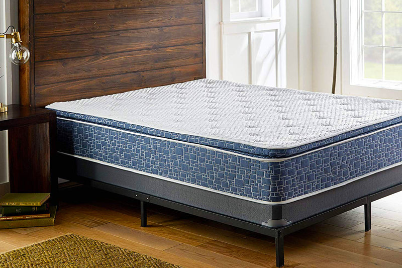 American_Bedding_Plush_Pillow_Top_Hybrid_Mattress