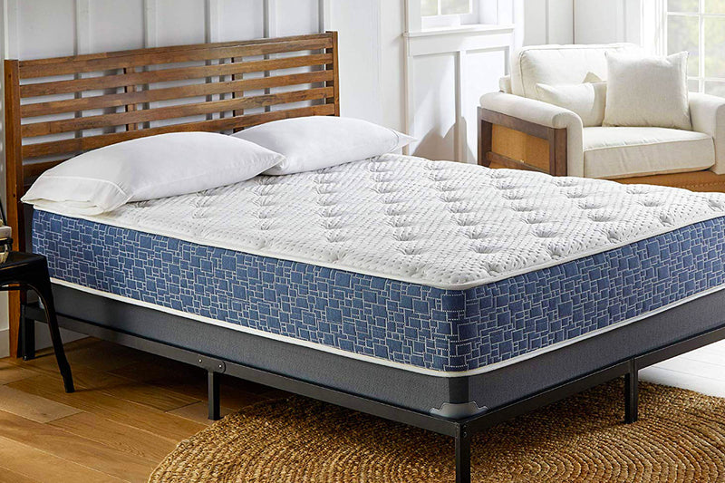 VENINI BEDDING 11-inch Medium Firm Tight Top Hybrid Gel Memory Foam and Spring Mattress