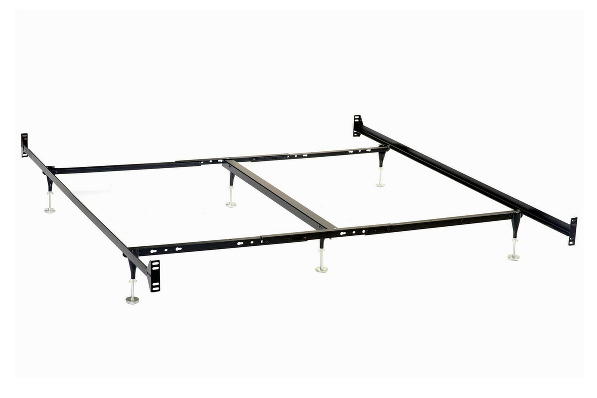 Bolt-On Bed Frame for California King Headboards and Footboards Model # 9602KW