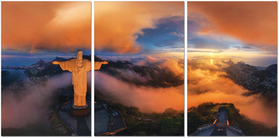Christ The Redeemer Acrylic Wall Art by Venini