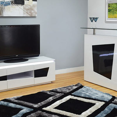 LED LIGHT TV STAND MODEL # 18FA-1013