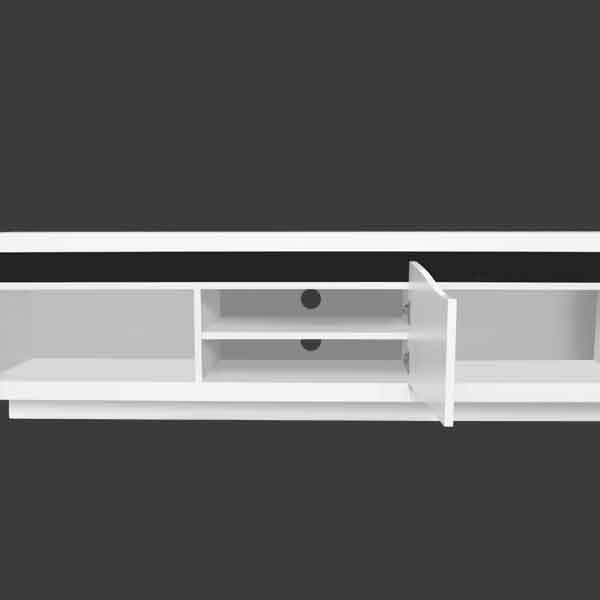 LED LIGHT TV STAND MODEL # 18FA-1025
