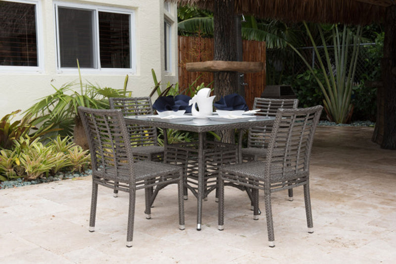 Graphite 5 PC Dining Side Chair Set PJO-1601-GRY-5DS