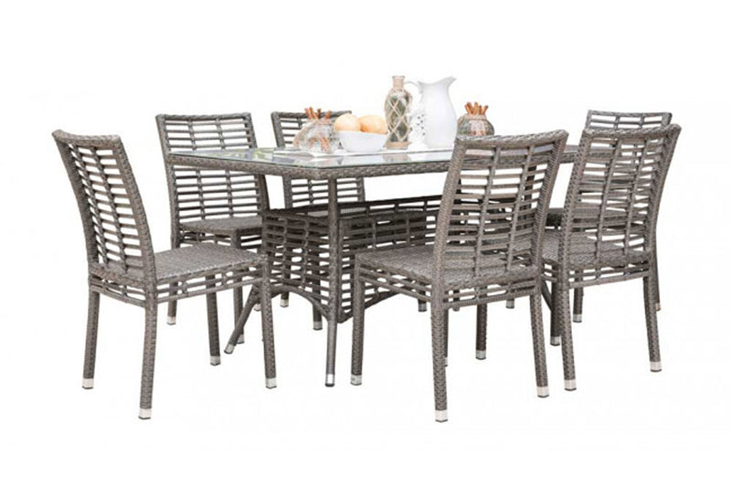 Graphite 7 PC Dining Side Chair Set PJO-1601-GRY-7DS