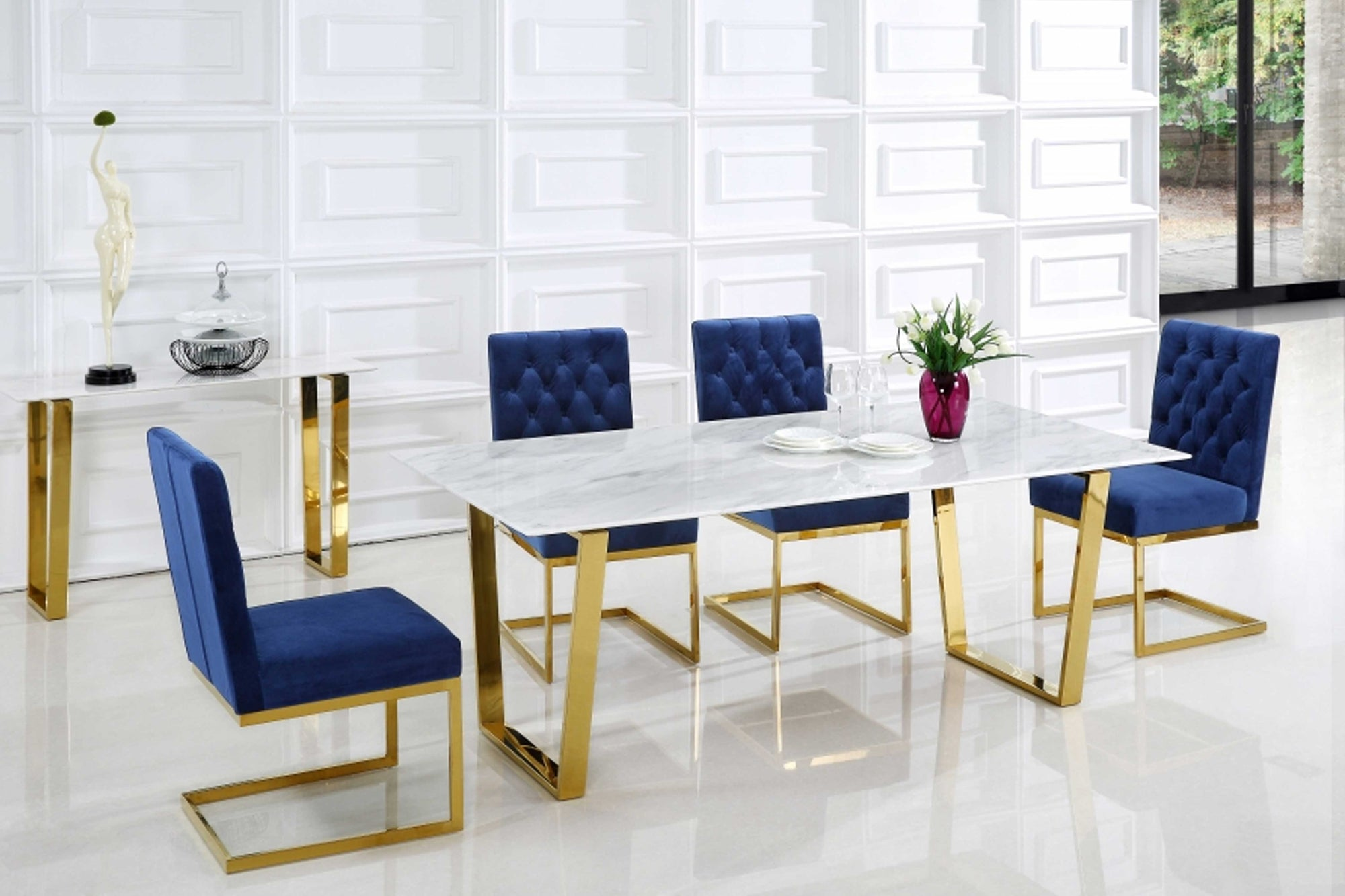 Julia 5 pc Contemporary Dining Set #18712