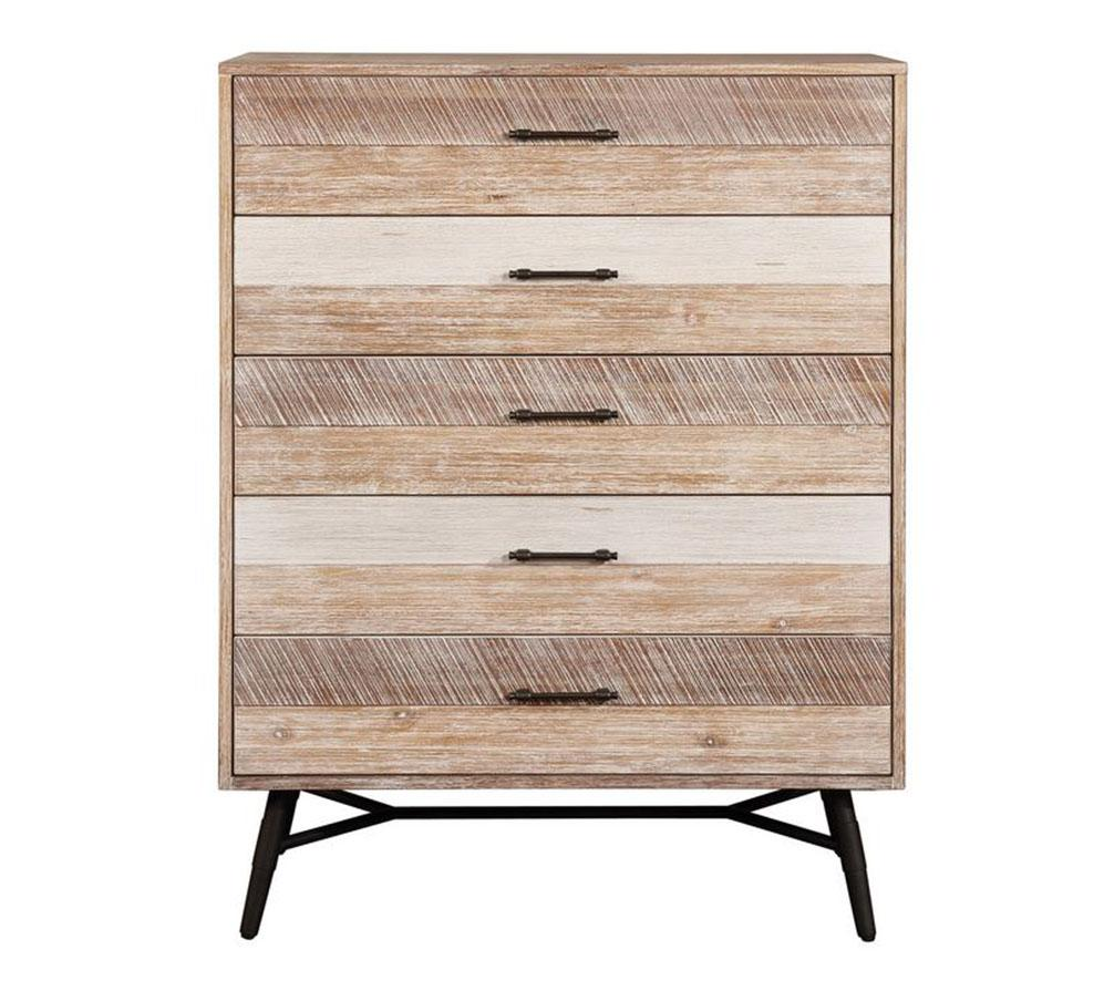 Marlow 5-drawer Chest Rough Sawn Multi Model #18215765