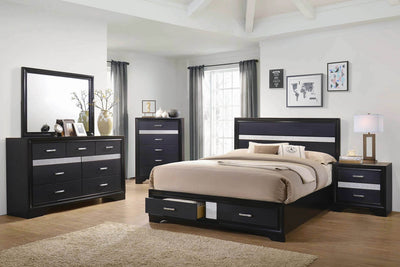 Miranda Contemporary Bed Model # 206361Q
