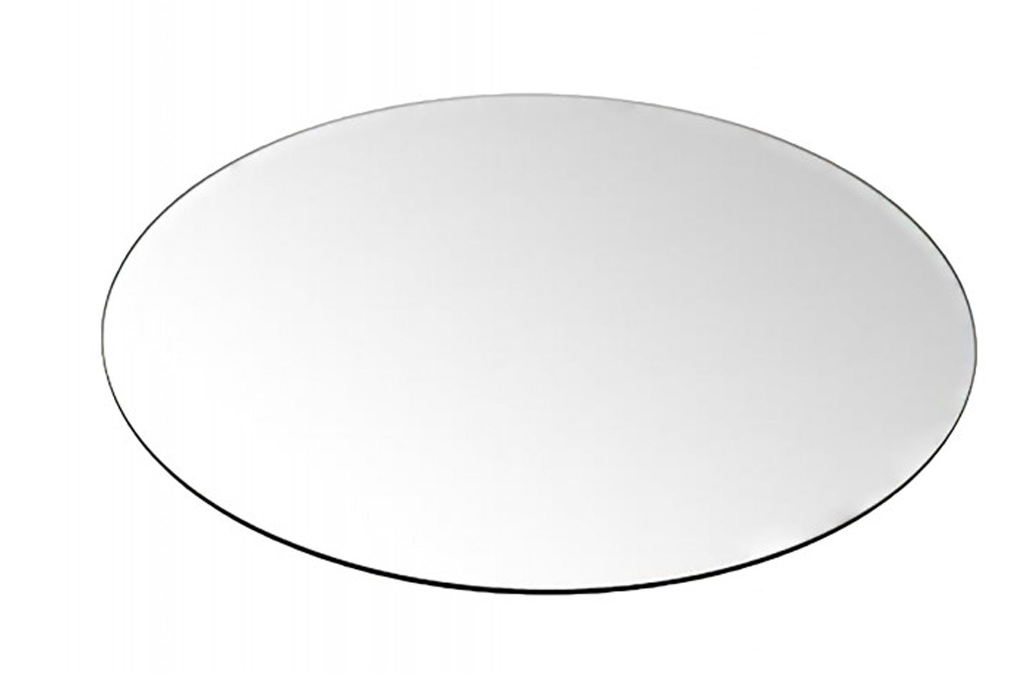 Optional Tempered Round Glass