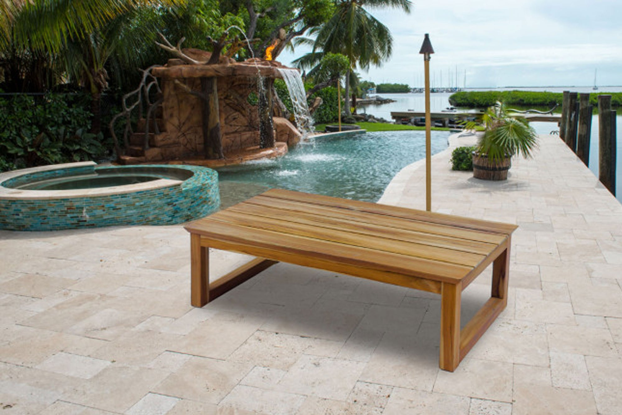 Cassidy Teak Coffee Table