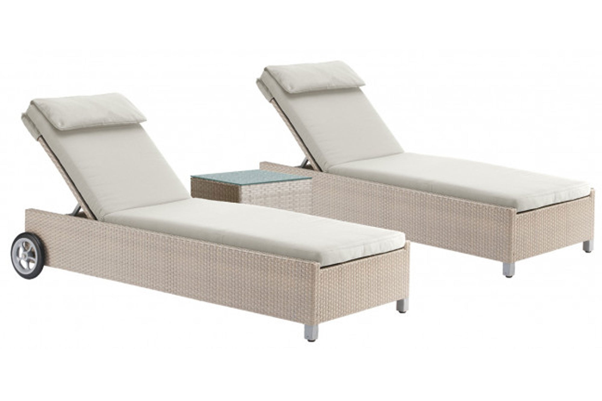 Cubix 3 PC Chaise Lounge Set
