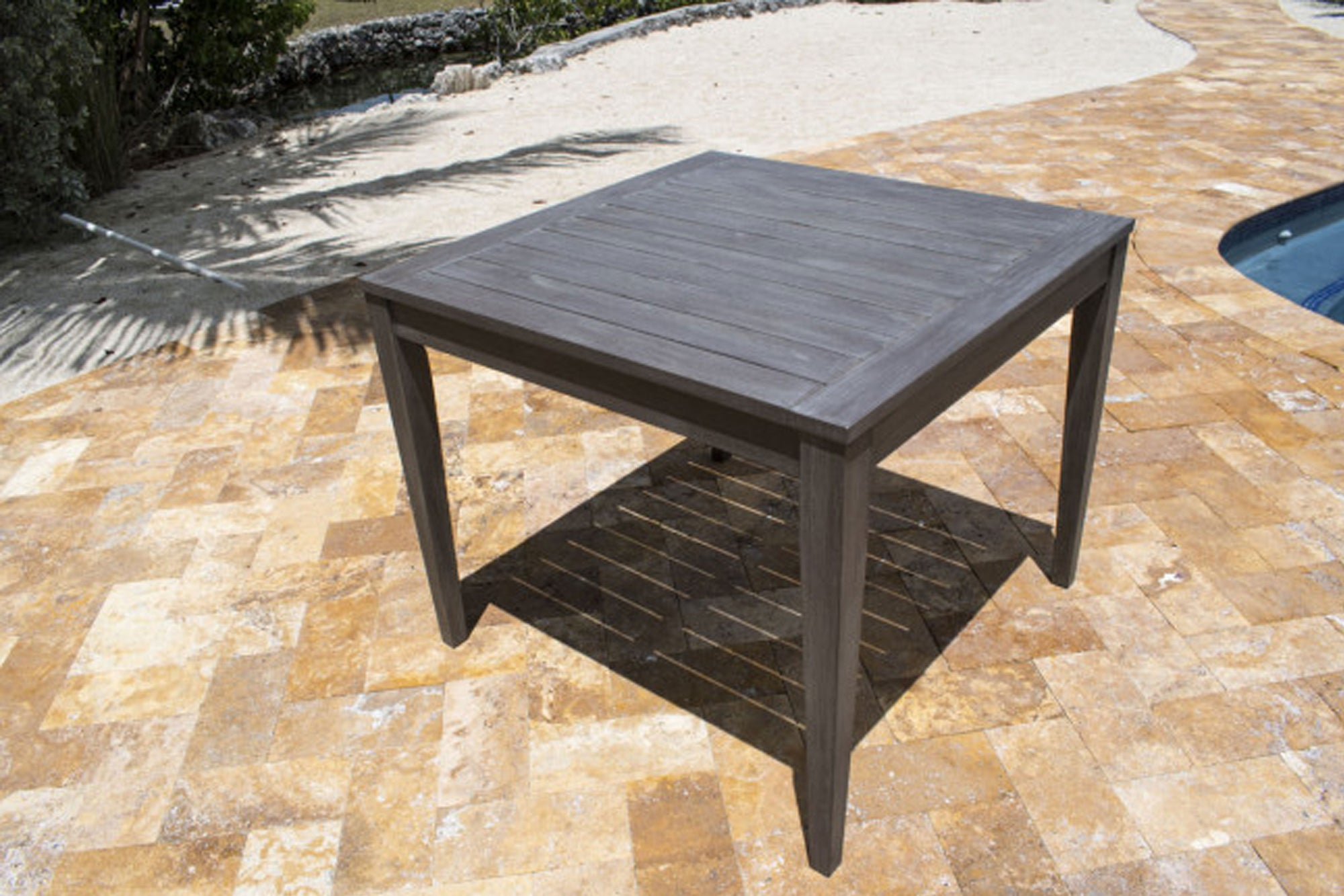 "Poolside 36"" Square Dining Table"