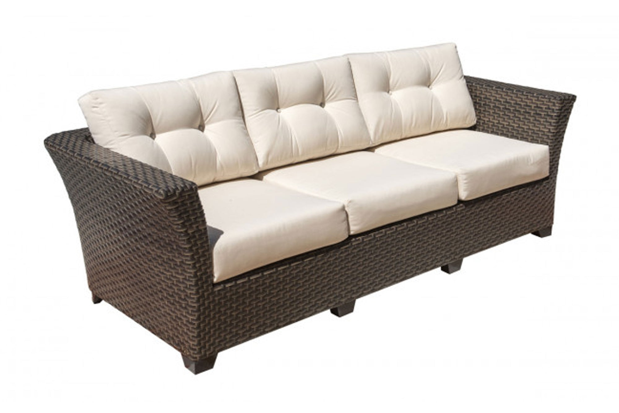 Samoa Sofa w/off-white cushion