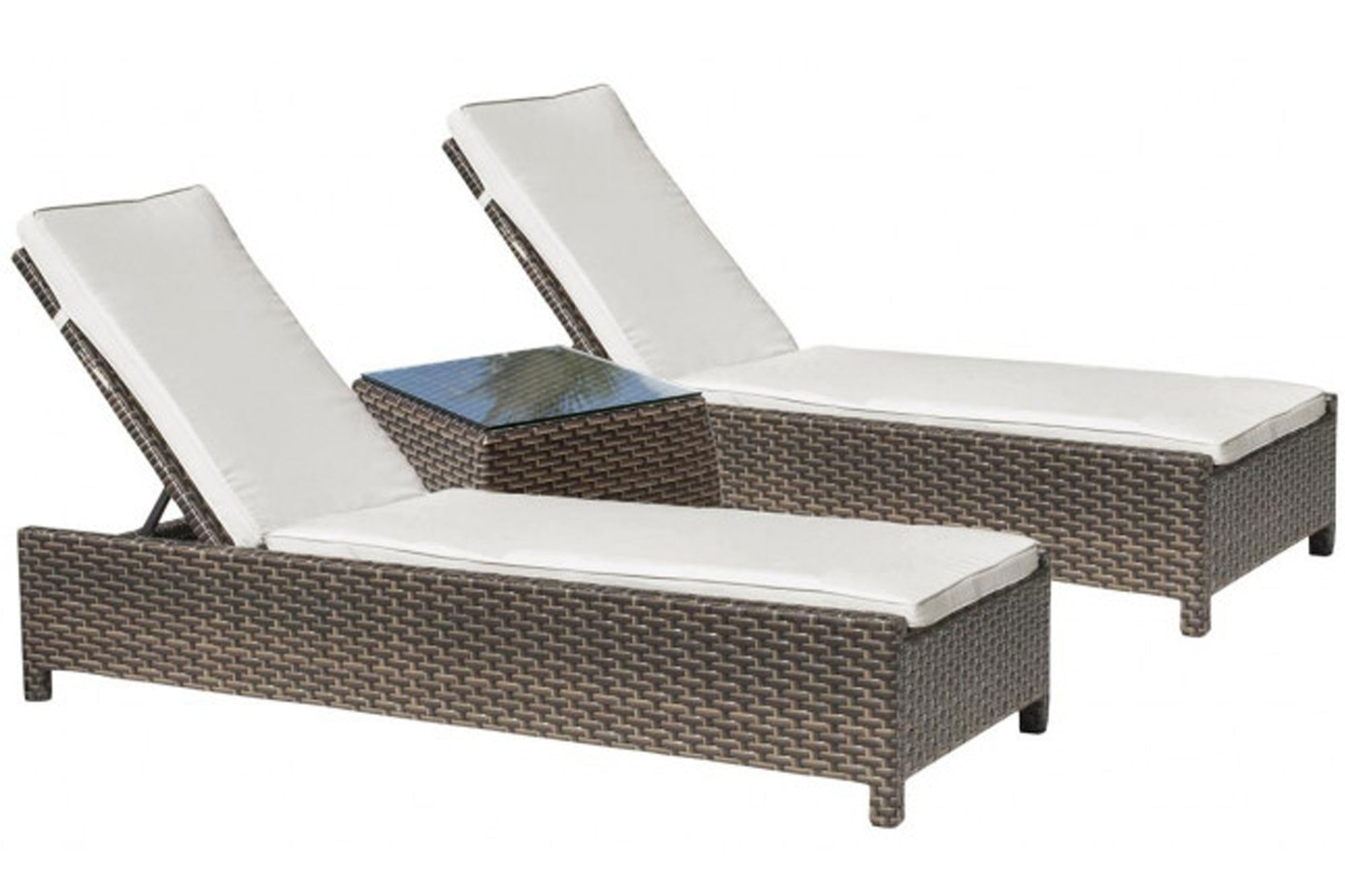 Samoa 3 PC Chaise Set