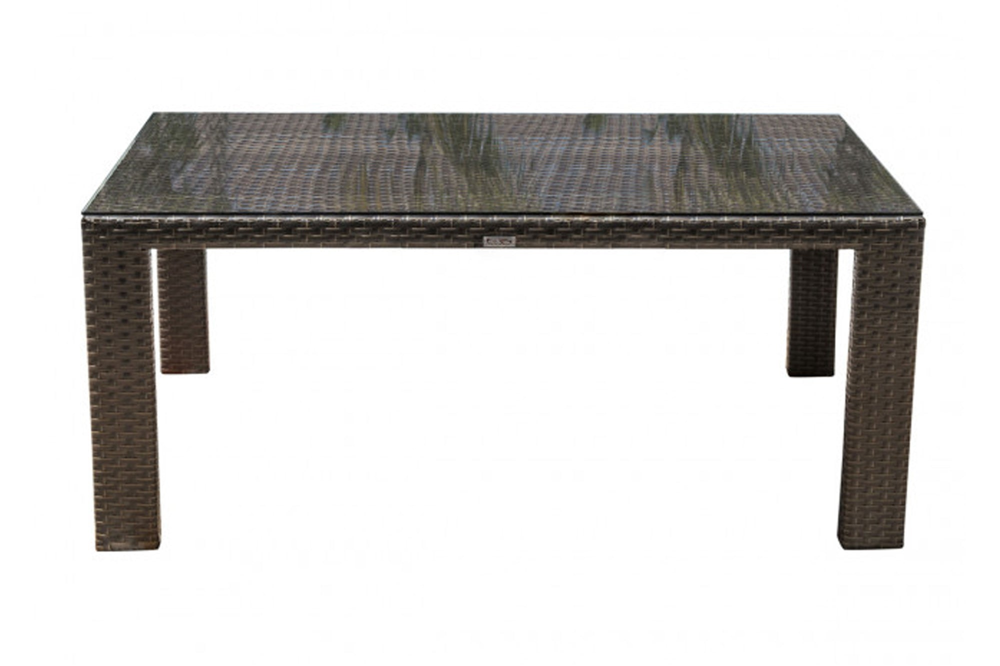Samoa Rectangular Woven Dining Table