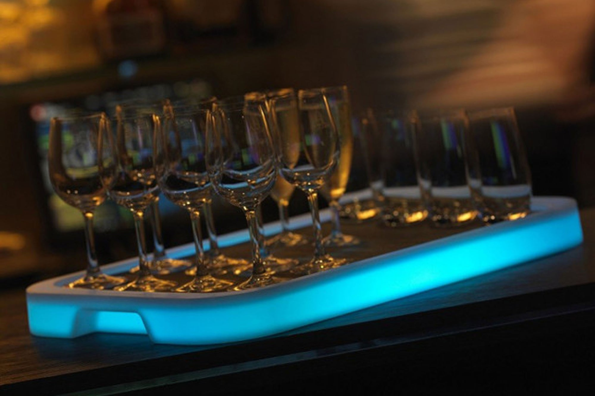 LED Rectangular Tray