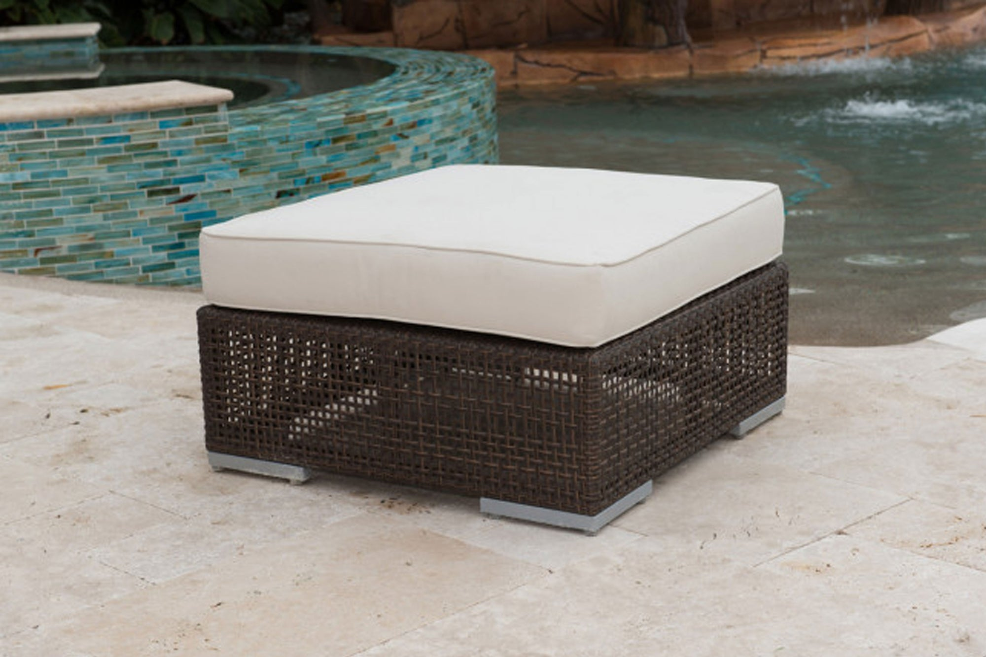 Atlantis Patio Ottoman