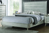 Ramon Queen Panel Bed Metallic Sterling Model # 222701Q