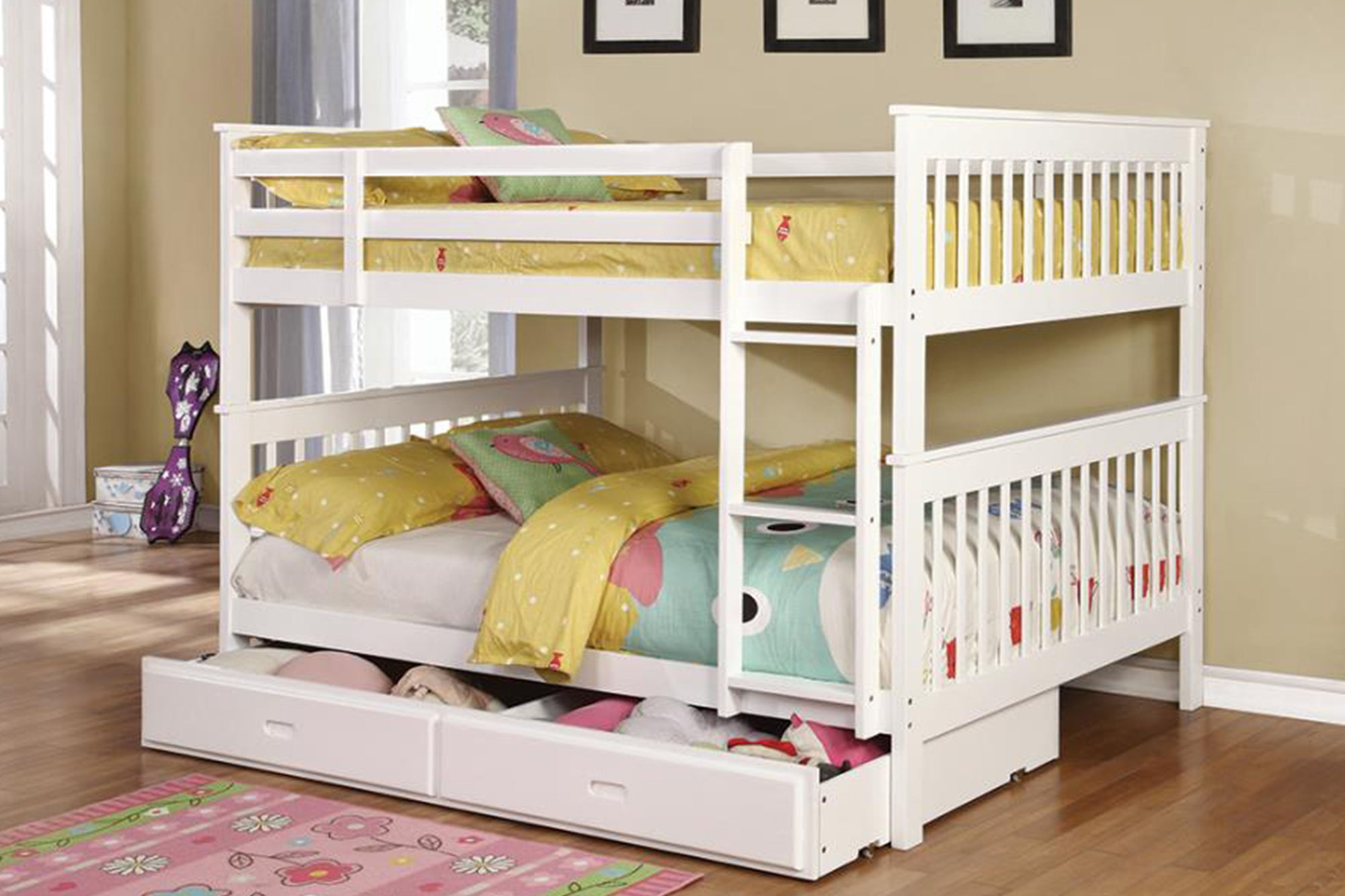 Wood Bunk Bed Model # 18460360