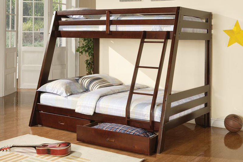 Wood Bunk Bed Model # 18 460228