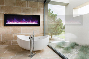 Amantii Panorama XS Series of Electric Fireplaces – Indoor or Outdoor.