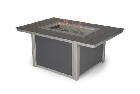 Fire Table, 36 x 54 Rectangular Fire Table