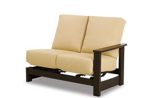 Leeward MGP Cushion Left Arm Two-Seat Hidden Motion Sectional