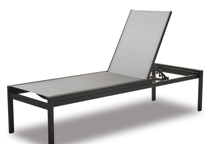 "Kendall Sling Lay-flat Stacking High Bed Armless 18"" Chaise"