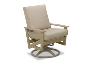 Wexler Cushion Chat Swivel Rocker