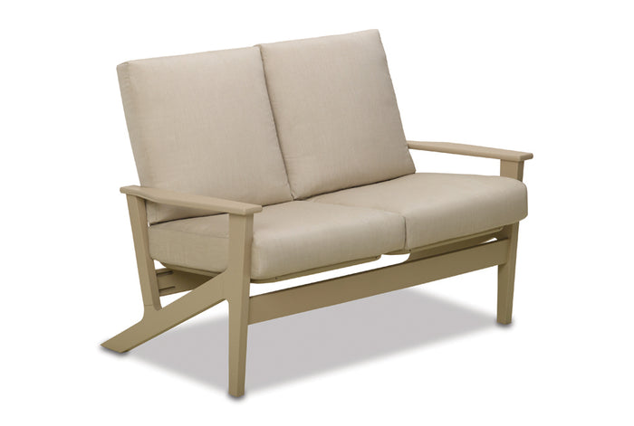 Wexler MGP Cushion Chat Height Two-Seat Loveseat
