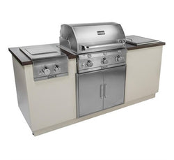SABER EZ OUTDOOR KITCHEN I SERIES Silver Vein Top/Base