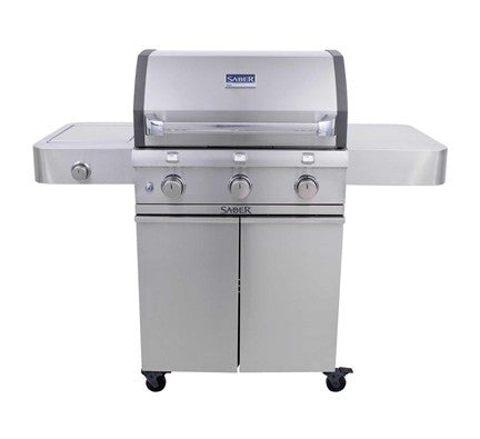 SABER 500 STAINLESS CAST GRILL (LP)
