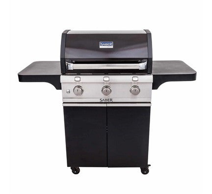 SABER 500 Black Cast Grill (LP)