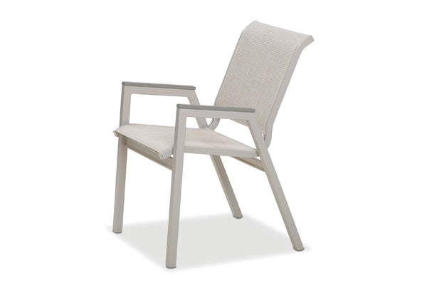 Bazza Sling Stacking Bistro Chair
