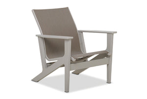 Wexler MGP Sling Chat Height Arm Chair