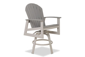 Newport Balcony Height Swivel Arm Chair