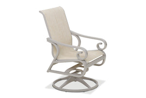 Charleston Sling Swivel Rocker