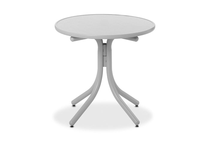 Round Value Hammered MGP Top Dining Height Table