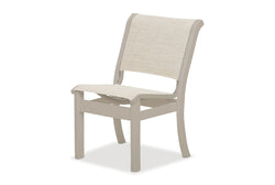 Dune MGP Sling Armless Stacking Side Chair
