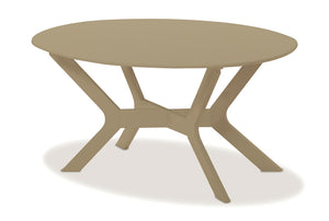 "Wexler Cushion 24"" x 42"" Oval Coffee Table"