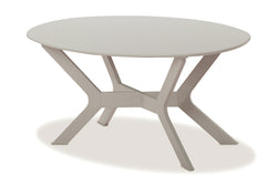 "Wexler Sling 24"" x 42"" Oval Coffee Table"