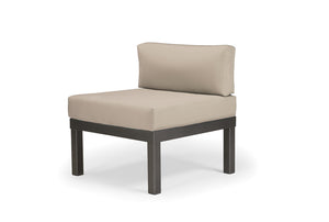 Larssen Cushion Armless Single Seat Section