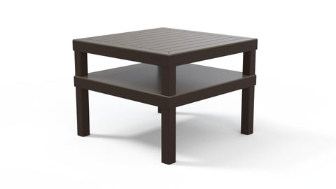 "Leeward MGP Cushion 28.5"" x 28.5"" MGP Top Corner Table"