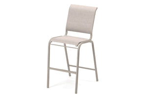 Gardenella Sling Bar Height Stacking Armless Cafe Chair