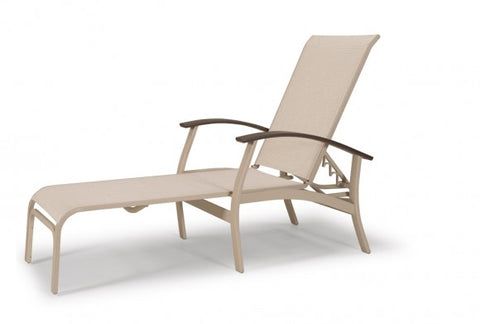 Belle Isle Sling Four Position Lay Flat Chaise