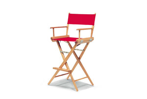 World Famous Director Bar Height Arm Chair