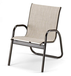 Gardenella Sling Stacking Arm Chair