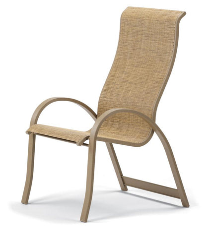 Aruba II Sling Supreme Stacking Arm Chair