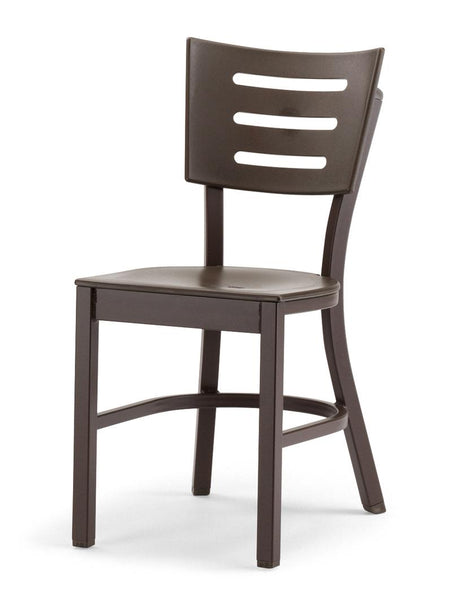 Avant MGP Aluminum Stacking Armless Chair