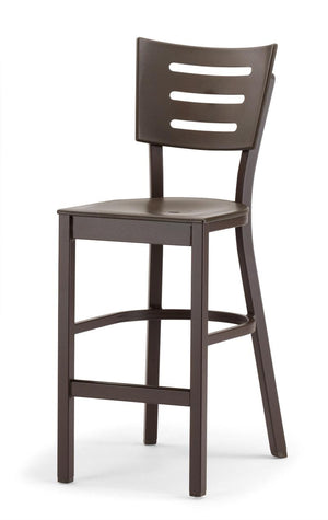 Avant MGP Aluminum Balcony Height Stacking Armless Chair